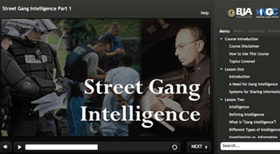 Street Gang Intelligence Graphic